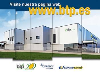 Foto centro de producción plataforma logística postal